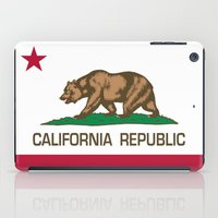 California Republic state flag - Authentic High Quality Version iPad Case