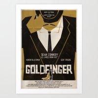 Goldfinger Art Print