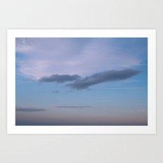 Bird in the Clouds Art Print