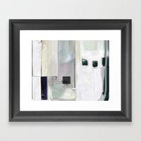 Linear Nb 4 Framed Art Print