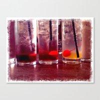 Soda, Italian Canvas Print