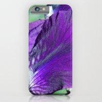 purple iris iPhone 6 Slim Case
