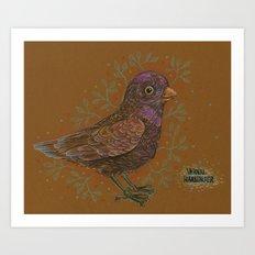 Vernal Harbinger Art Print