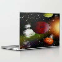 Laptop & iPad Skin featuring SPACE 10162013 - 052 by Lazy Bones Studios