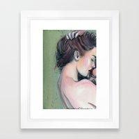 Emerald  Framed Art Print