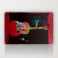 graphic guitar Laptop & iPad Skin