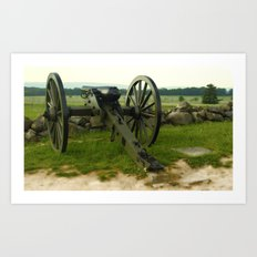 Cannon Of The Past Art Print