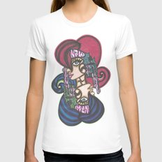Wild Wild West Womens Fitted Tee White SMALL