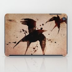 On your fears,  ... swallow them.   iPad Case