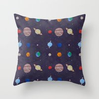 The 9 Planets! Throw Pillow