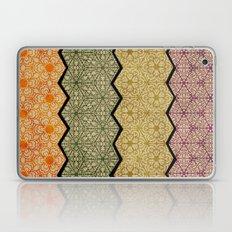 Pattern, Zig, Pattern, Zag, Repeat Laptop & iPad Skin