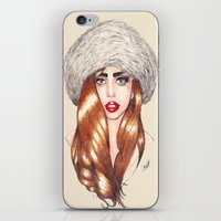 Furr Queen iPhone & iPod Skin