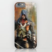 iPhone Cases featuring Portrait of Arno Dorian by Wisesnail