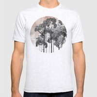 Crux Mens Fitted Tee Ash Grey SMALL