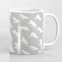 Wild Wolves Pattern Mug
