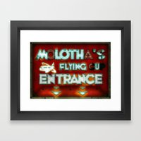 MOLOTHA Framed Art Print