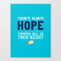 There's Always Hope... Canvas Print
