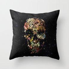 Smyrna Skull Throw Pillow