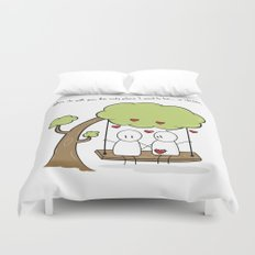 When I'm With You... Duvet Cover