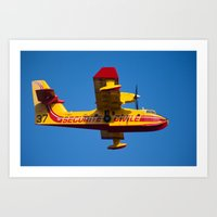CanadAir 37 1185 Art Print