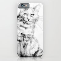 iPhone & iPod Case featuring ちょっとしぶい猫 by Priscilla Moore