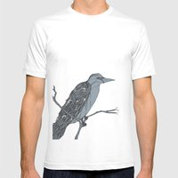 The Rook Mens Fitted Tee White SMALL