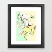 Found Souls, Open Island… Framed Art Print