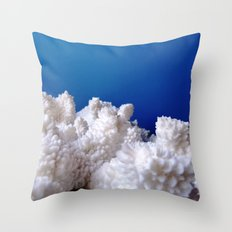 The Fluffy Mountains! Throw Pillow
