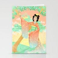 Xi- Wang Mu  Stationery Cards