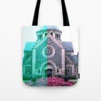 Cracked church... Tote Bag