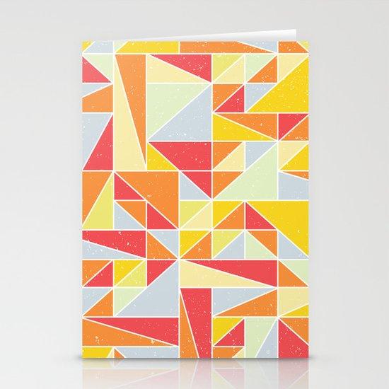 Shapes 008 Stationery Card