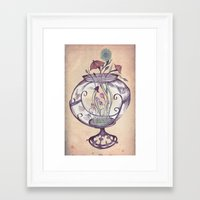 Terrarium #2 Framed Art Print