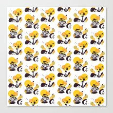 Hedgehog Pattern No. 3 Canvas Print