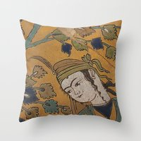 leili and majnoon Throw Pillow