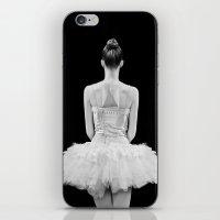 ballarina iPhone & iPod Skin