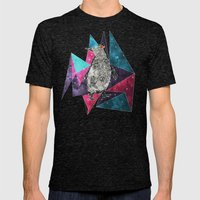 PenQueen Mens Fitted Tee Tri-Black SMALL