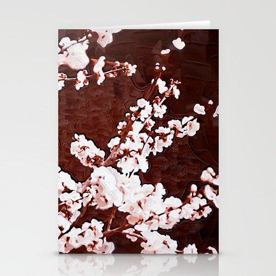 Cherry Blossoms Stationery Card