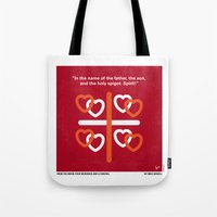 No259 My Four Weddings and a Funeral minimal movie poster Tote Bag