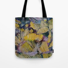 Gloden Harvest Collage Tote Bag