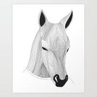 -Horse- Art Print