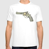killer television Mens Fitted Tee White SMALL