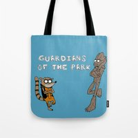 Guardians Of The Park Tote Bag