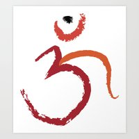 Om To Guide Your Way Art Print