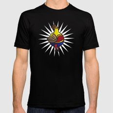 Dianne SMALL Black Mens Fitted Tee