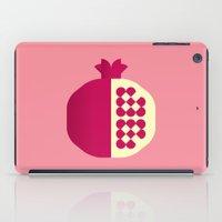 Fruit: Pomegranate iPad Case