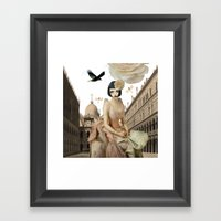 Pretty Imagination Framed Art Print