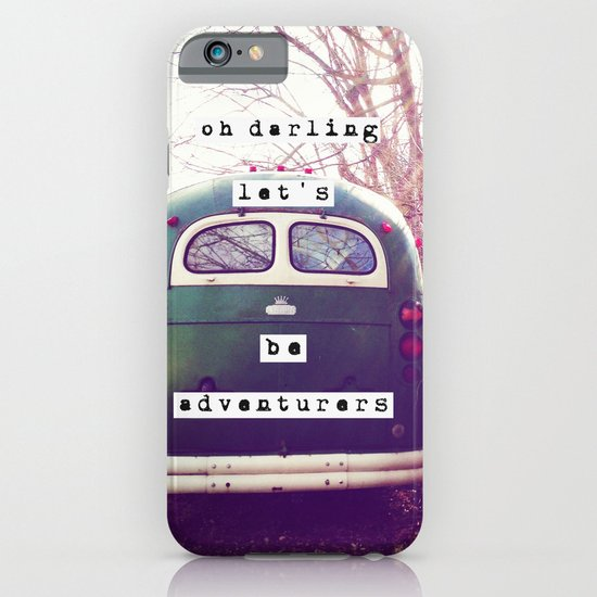 oh darling, let's be adventurers iPhone & iPod Case
