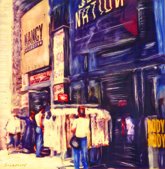 Melrose St, Los Angeles, CA #2  Art Print