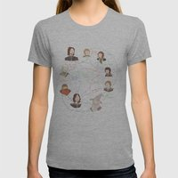Fellowship Relationship Chart Womens Fitted Tee Athletic Grey SMALL