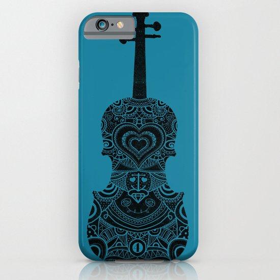 Analog zine - Fiddle iPhone & iPod Case